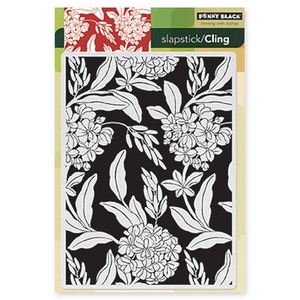 Penny Black Cling Stamp BLISSFUL Rubber Unmounted 40-205