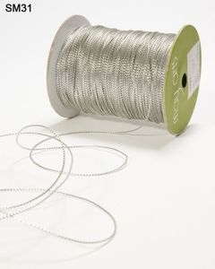May Arts Silver Metallic Twine