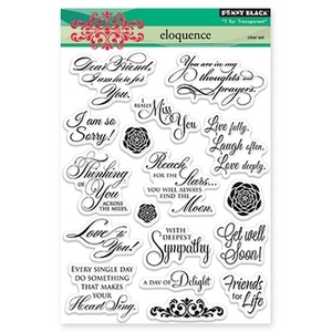 Penny Black Clear Stamps ELOQUENCE 30-162