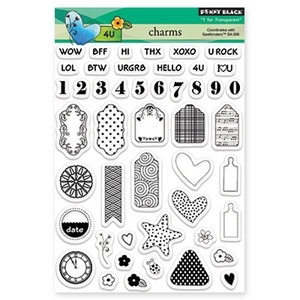 Penny Black Clear Stamps CHARMS 30-173