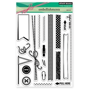 Penny Black Clear Stamps EMBELLISHMENTS 30-161 zoom image