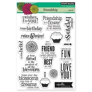 Penny Black Clear Stamps FRIENDSHIP 30-160 Preview Image