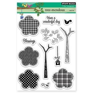 Penny Black Clear Stamps TREE-MENDOUS 30-165*