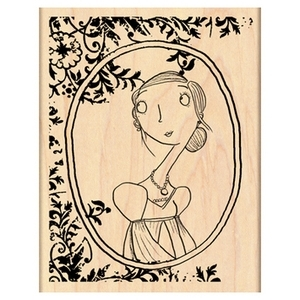 Penny Black Rubber Stamp MONA LISA 4302K Preview Image