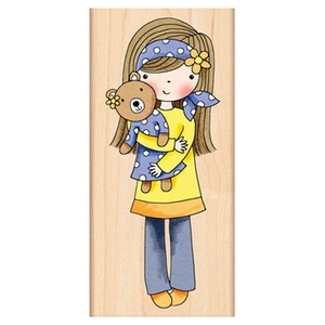 Penny Black Rubber Stamp MINDY 4330J Preview Image