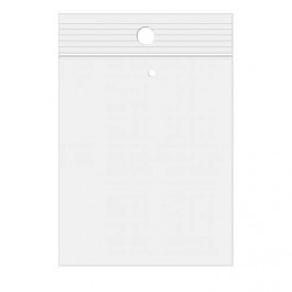 Clear Bags 9 x 12 Zip Seal Close Pack of 10 ZR912V Preview Image