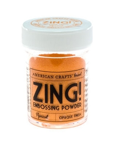 American Crafts Zing! APRICOT Opaque Embossing Powder zoom image