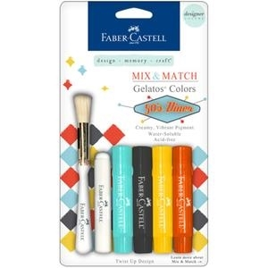 Faber-Castell 50'S DINER Gelatos Designer Colors 770163