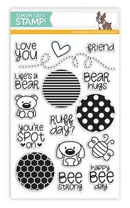 Simon Says Clear Stamps CIRCLE FRIENDS sss101309 Preview Image