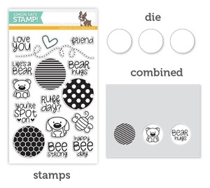 Simon Says DIE & STAMPS SET FRIENDSHIP CIRCLES SetFC16 *