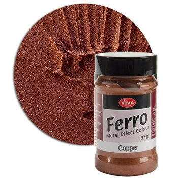 Viva Decor COPPER FERRO Metal Effect Texture Color Ferro910 or 132491