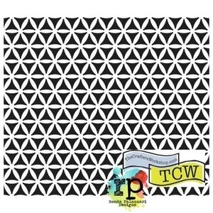 The Crafter's Workshop MINI KALEIDOSCOPE 6 x 6 Template TCW347S Preview Image
