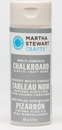 Martha Stewart GRAY CHALKBOARD 6oz Multi-Surface Acrylic Paint 32218*