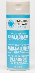 Martha Stewart BLUE CHALKBOARD 6oz Multi-Surface Acrylic Paint 32216