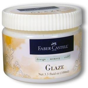 Faber-Castell GLAZE Transparent Semi-Gloss Paper Crafter Medium 3.3oz 770304