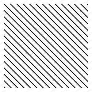 Impression Obsession Cling Stamp DIAGONAL LINES CC148