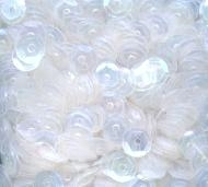 Sequins Cupped CLEAR IRIDESCENT Pack of 1000 i5sc82 Preview Image