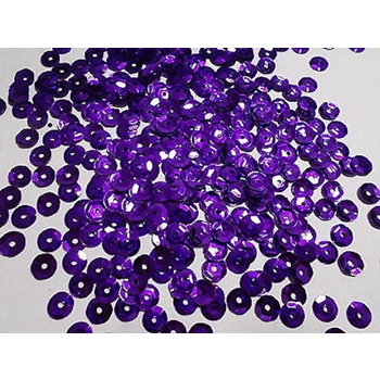 Sequins Cupped DARK PURPLE Pack of 1000 i5sc39