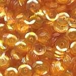 Sequins Cupped GOLDEN YELLOW Pack of 1000 i5sc10