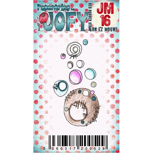 Paper Artsy JOFY MINI 16 Rubber Cling Stamp JM16 Preview Image