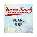 Paper Artsy Fresco Finish PEARL GLAZE Chalk Acrylic Paint 1.69oz FF53 zoom image