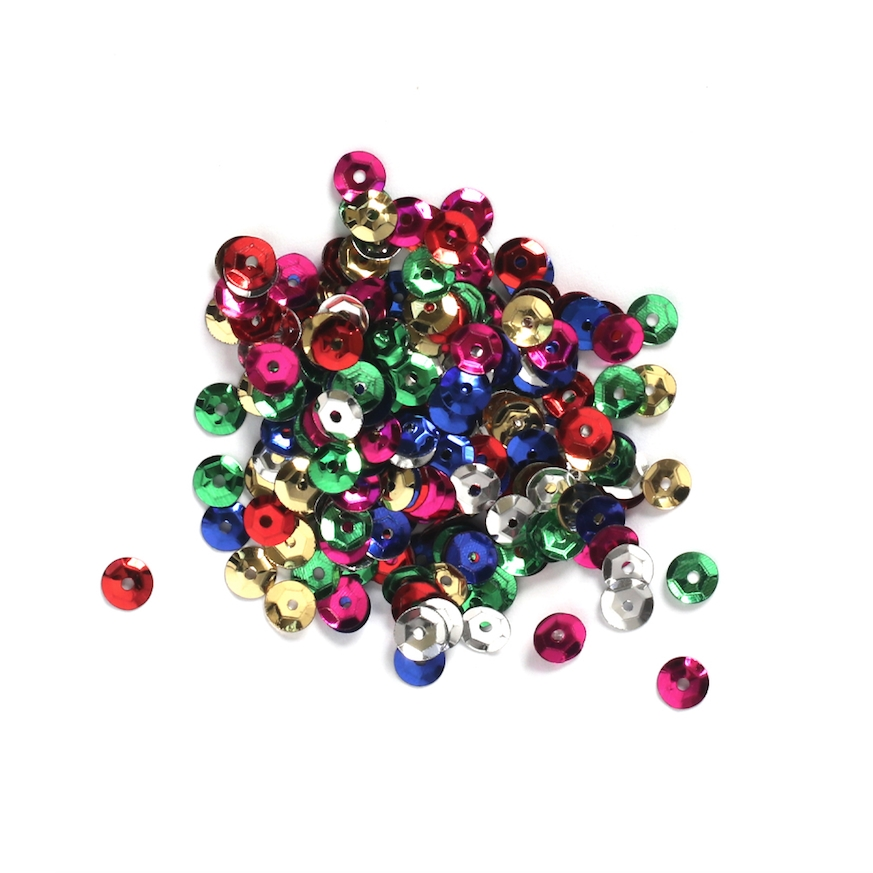Darice 5MM MULTI Sequins 10043-11 zoom image