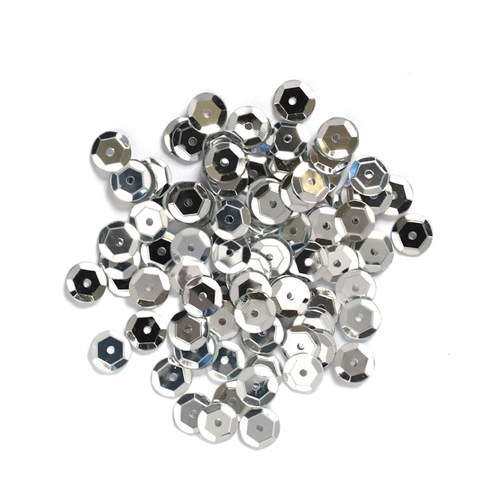 Darice 5MM SILVER Sequins 10043-19 Preview Image