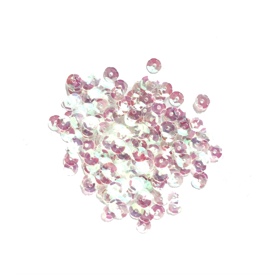 Darice 5MM CRYSTAL IRIDESCENT Sequins 10043-8 zoom image