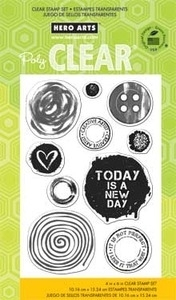 Hero Arts Clear Stamps NOT PERFECT cl698