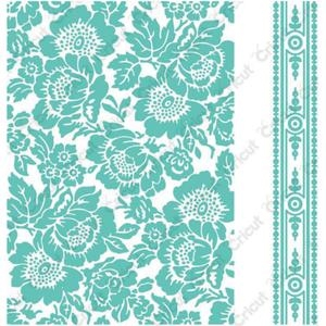 Cuttlebug 5 x 7 Embossing Folders POPPY Provo Craft Anna Griffin Preview Image