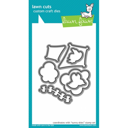 Lawn Fawn SUNNY SKIES Lawn Cuts Dies LF517 Preview Image