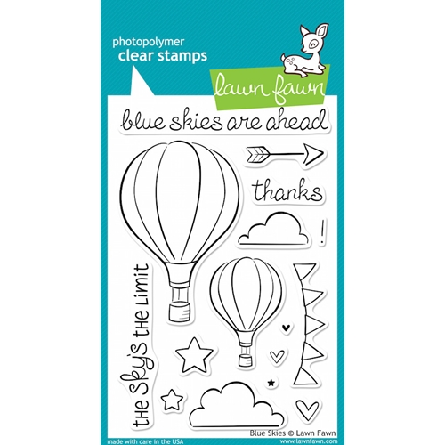 Lawn Fawn BLUE SKIES Clear Stamps LF511 Preview Image