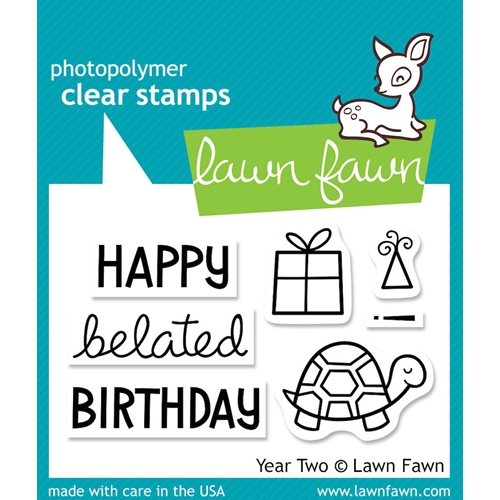 Lawn Fawn YEAR TWO Clear Stamps LF510 Preview Image
