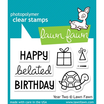 Lawn Fawn YEAR TWO Clear Stamps LF510