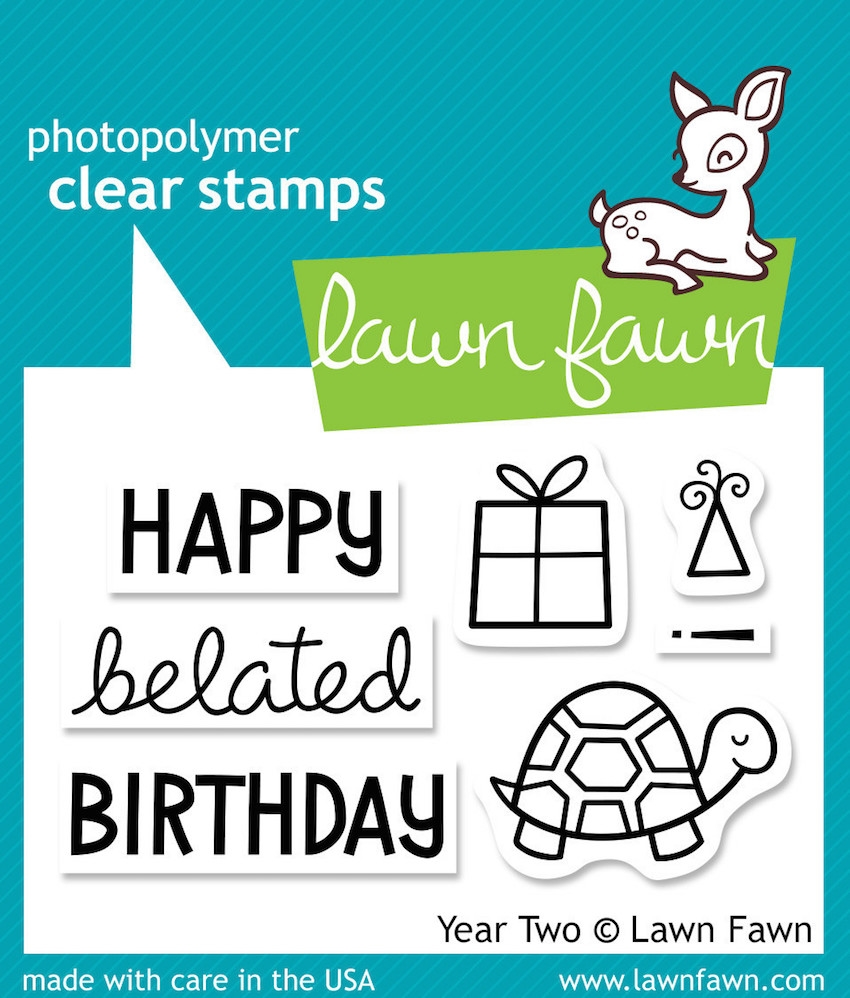Lawn Fawn YEAR TWO Clear Stamps LF510 zoom image