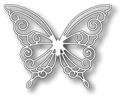 Simon Says Stamp DEVONSHIRE BUTTERFLY Die S173 Preview Image