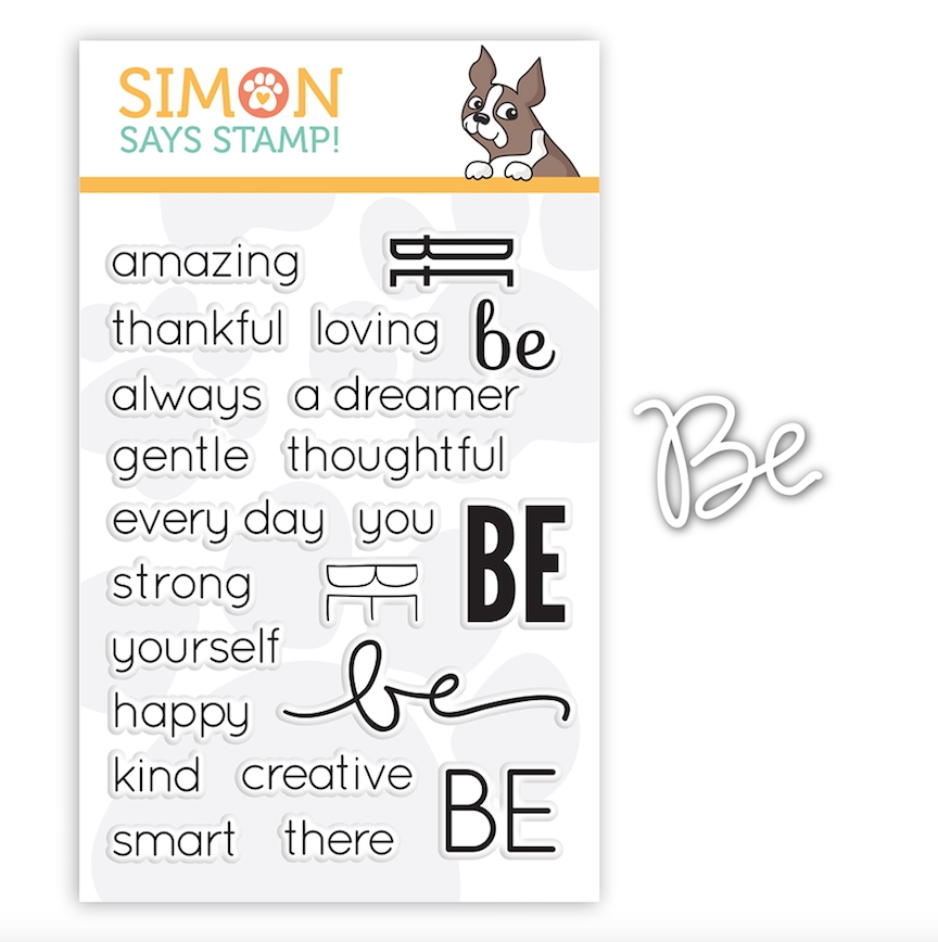 Simon Says DIE & STAMPS SET SENTIMENTS OF BE setSB18 zoom image