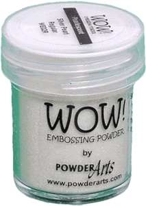 WOW Embossing Powder SILVER PEARL Regular WE02R