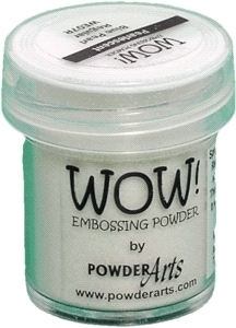 WOW Embossing Powder BLUE PEARL Regular WE07R