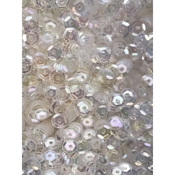 Sequins Cupped 5MM CLEARLY BELOVED Pack of 1000 C5SC714
