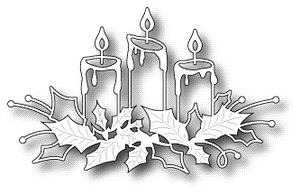 Memory Box GLOWING CANDLES Craft DIE 98661 Preview Image