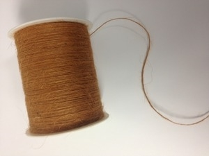 May Arts ANTIQUE GOLD Twine String Burlap*