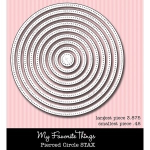My Favorite Things PIERCED CIRCLE STAX  Die-Namics MFT* Preview Image