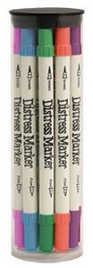 Tim Holtz Distress Markers 12 NEW SEASONAL SET Ranger TDMK39525 zoom image