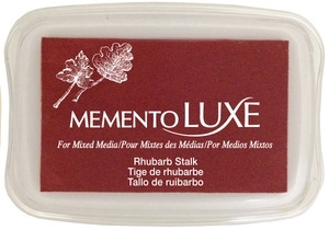 Memento Luxe RHUBARB STALK Ink Pad Tsukineko ML-301 Preview Image