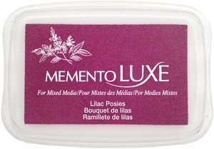Memento Luxe LILAC POSIES Ink Pad Tsukineko ML-501 Preview Image