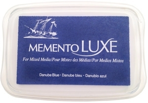 Memento Luxe DANUBE BLUE Ink Pad Tsukineko ML-600 Preview Image