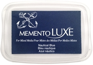Memento Luxe NAUTICAL BLUE Ink Pad Tsukineko ML-607 zoom image