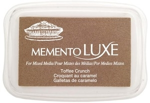 Memento Luxe TOFFEE CRUNCH Ink Pad Tsukineko ML-805* zoom image