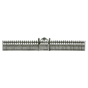 Tim Holtz Sizzix Die IRONWORKS GATE Decorative Strip Sizzlits 658711*